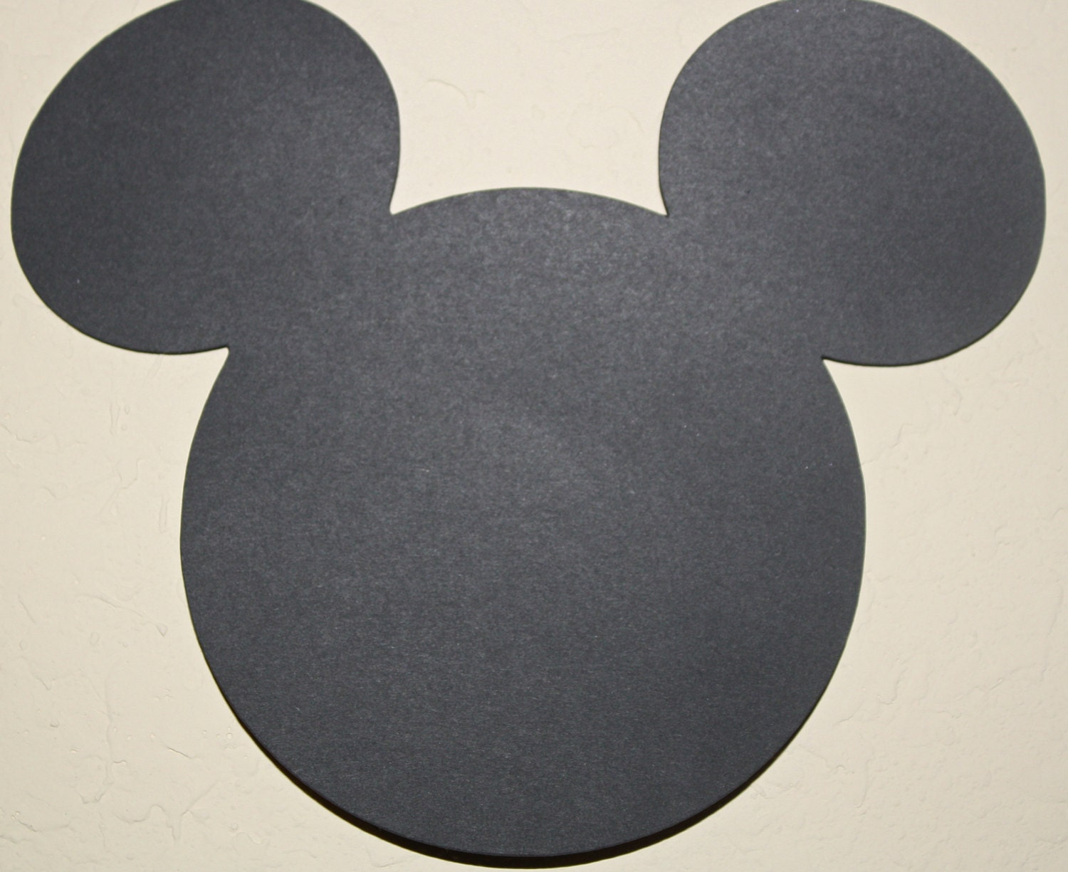 large mickey mouse head template - small mickey mouse head die cut out 3 3 4inches perfect for