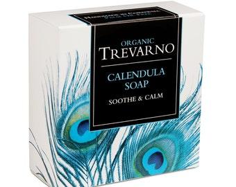 Organic Trevarno Calendula Soap