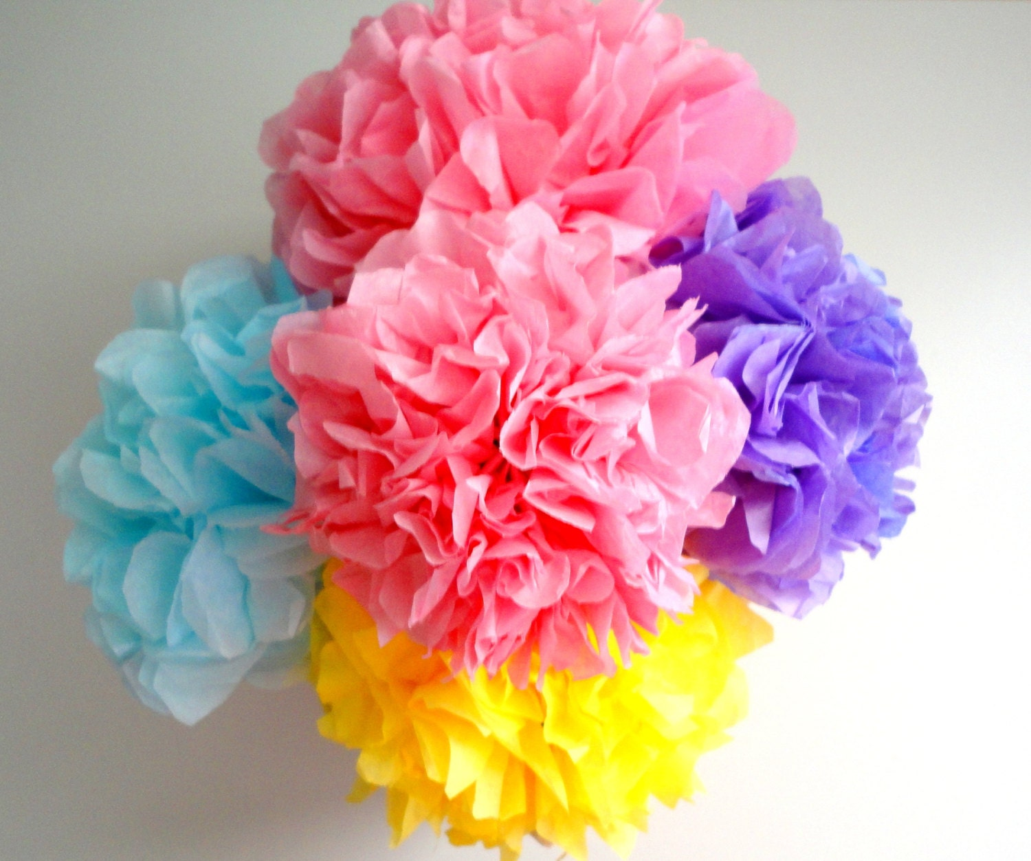how to make mini tissue paper pom poms How to make a recycled newspaper pom pom i started with pom poms usually they're made of tissue paper, but having a pile of newspaper on the porch.