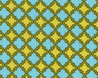 Quilting cotton fabric by the yard, 100% premium cotton, quatrefoil by Paula Prass for Michael Miller. Need more fabric yardage? Just ask.