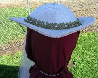 Bridal Renaissance Riding Hat