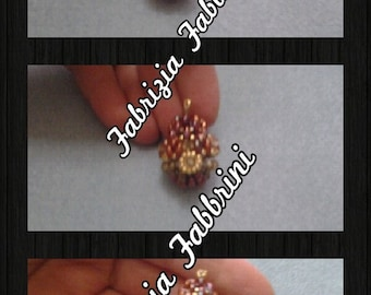 "Photo tutorial/pattern pendant ""secret box"""