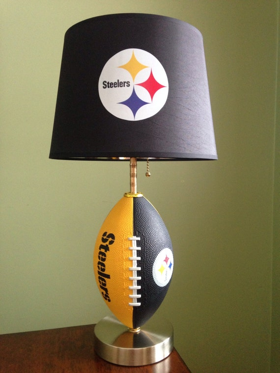 Steelers Lamps Pittsburgh Steelers Football Lamp Nfl