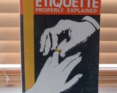 1960s / Wedding Etiquette Properly Explained / 1967 paperback book