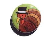 Tom Turkey Fridge Magnet,...