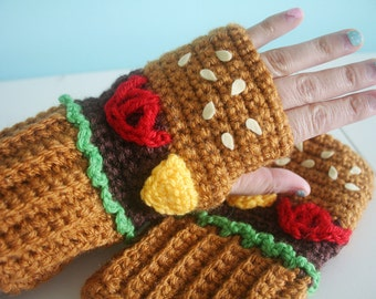 Cheeseburger MItts - Made to Order