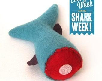 Handmade Catnip Cat Toy / Severed Shark Tail Catnip Toy / Gift for Pet Lover