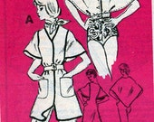 1960s Toppers Vintage Sewing Pattern Mail Order M436 Prominent Designer Bert Geiger Size 16
