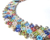 Beading Tutorial - 31 Morocco Collar, Bead Pattern, Seed Beadweaving, Intermediate