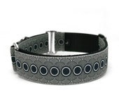 """1.5"""" dog collar Chicago martingale or buckle collar"""