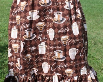 Coffee Lovers Skirt size12