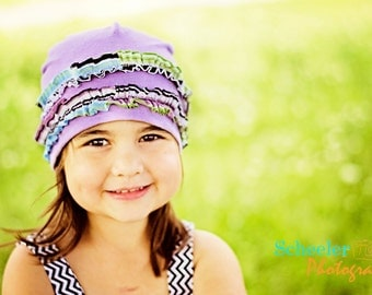 Whimsy Couture Sewing Pattern/Tutorial -- Knit Fleece Beanie Hat -- All Sizes Kids Adults Girls Boys PDF Instant
