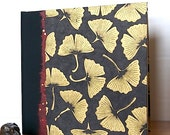 Wedding Photo Album  Black Gingko Leaf-Great for Graduations, sScrap Book, Memoirs and Gifts