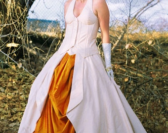 The Seashell Gown---Custom Made Wedding Dresses