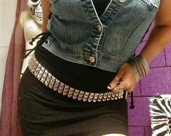 Custom Black Mini skirt