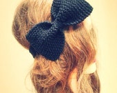 Romance Bow knit headband