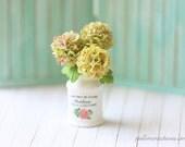 Dollhouse Miniature Flowers- Vintage Hydrangeas