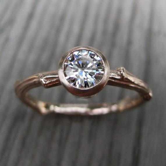 branch wedding rings - photo #23