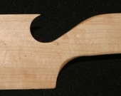 Hand Crafted Birds Eye Maple Shuttles / Beaters for Card / Inkle Weaving