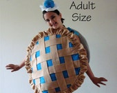 Adult Costume Teen Costume Pie Halloween Costume Blueberry Cherry Pumpkin Lemon Strawberry Purim Costume