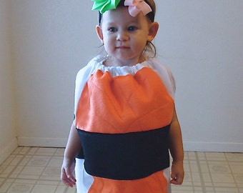Kids Sushi Costume Childrens Costume Halloween Sushi Photo Prop Dress Up