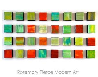 Modern Wall Decor | Wood Wall Art | 3D Wall Art | Wood Wall Sculpture | Original Art | Rosemary Pierce Modern Art | SKU#RH33001