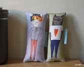 Pillow set- Boyfriend Girlfriend