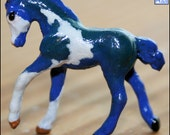 Shamrockstar - Custom Fantasy Mini Whinnie Model Horse (Breyer Romping Foal)
