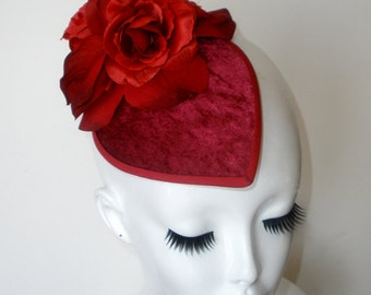 V E L V E T I N E - Rose Hat