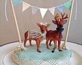 Deer Cake Topper (Custom)
