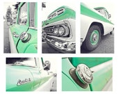 Mint Condition - Chevy Apache 10 Vintage Truck - Set of 5 Blank Greeting Cards