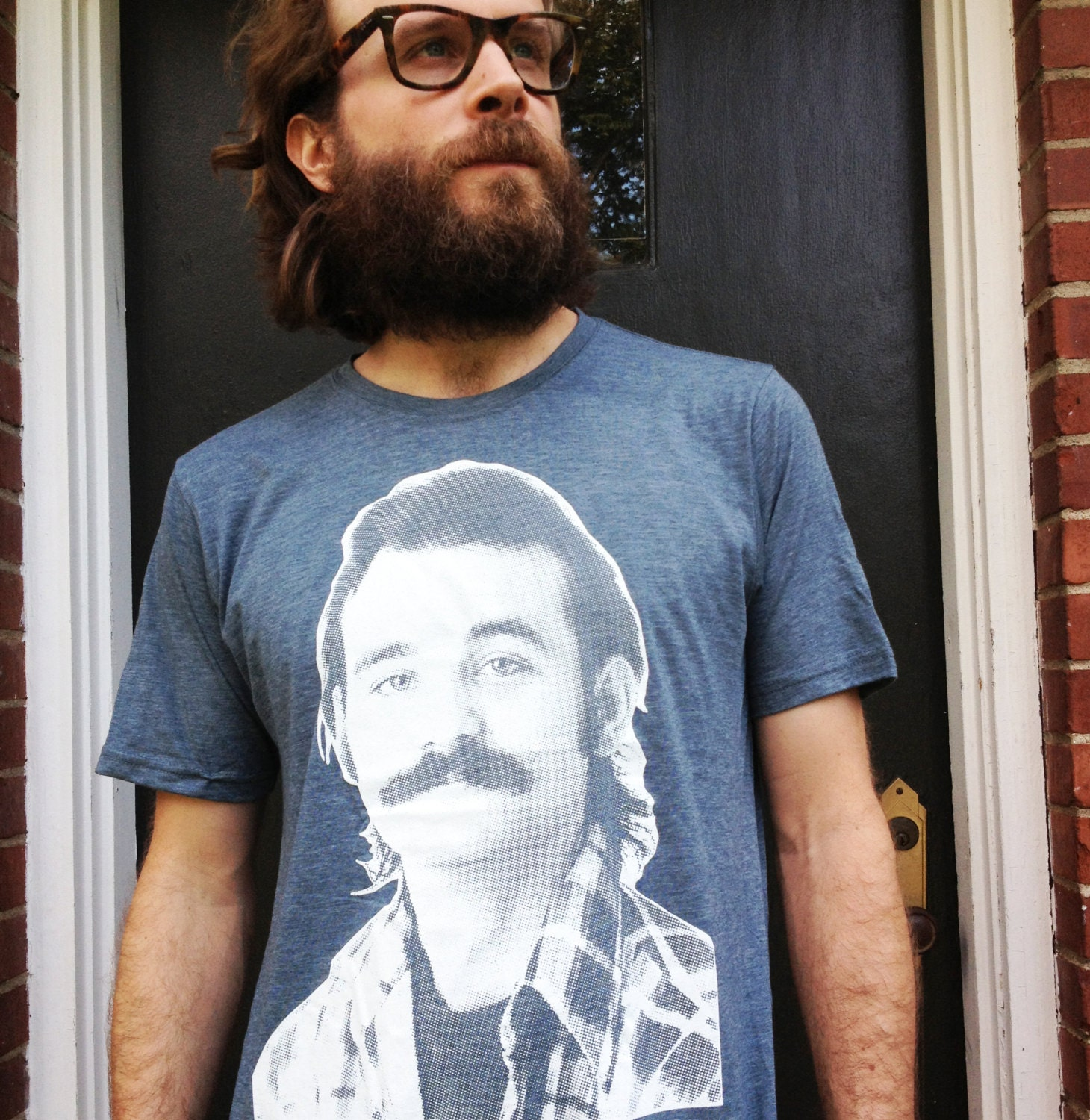 Young Bill Murray Mustache Men's/Unisex Young Bil...