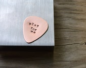 Custom Guitar Pick -  Personalized - Gifts for Men - Guys Gift - Under 25 - For Him - For Dad - Music - Musicians