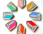 Mini Book Pin - Available in 8 Different Colours