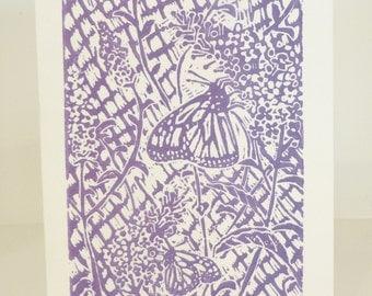 Butterfly Bush Art Print & Envelope