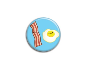 Bacon and Egg Breakfast Button