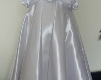 Satin Christening gown