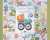Design Works Crafts - Special Delivery Baby ABC 2770, Counted Cross Stitch Kit