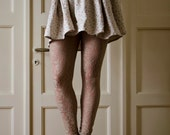 Sand Lace Leggings, Beige Tights, available in plus sizes