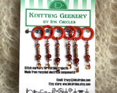 irRestistible Stitch Markers - set of 6 Small