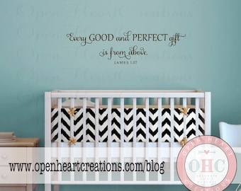 Nursery Wall Quote Etsy