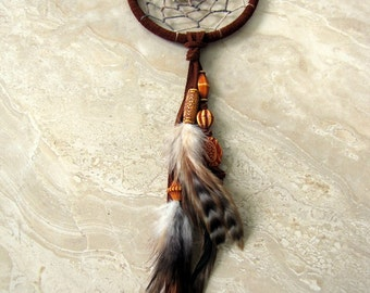 Dream Catcher - Brown Feather Dream Catcher, Dreamcatcher