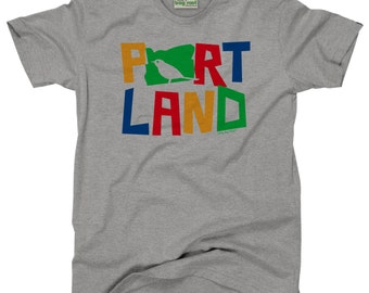 Portland Bird Kid's T-Shirt