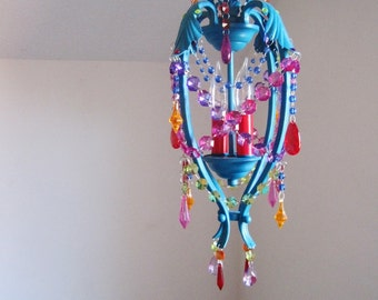 Gypsy Dreams Chandelier Pendant Lamp MADE TO ORDER