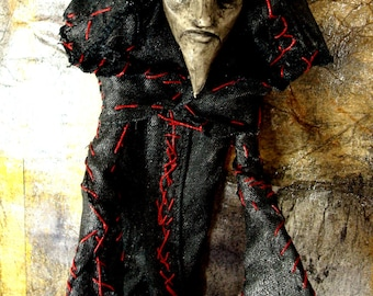 Priest - OOAK Art Doll