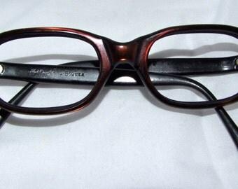 Vintage 1950s Eyeglasses // 50s Cats Eye Eyeglasses // ART CRAFT  Brand