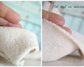Sherpa Organic CottonHalf Yard Baby Soft Lofty and Plush Domestically Made GOTS Certified Organic