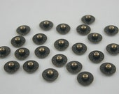 50 pcs Antique Brass Jean Rivets Jeans Button Denim Rivets Leather Craft Decorations Findings 9 mm. BR9 K