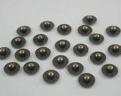 50 pcs Antique Brass Jean Rivets Jeans Button Denim Rivets Leather Craft Decorations Findings 9 mm. BR9 K