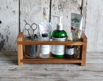 Medium Apothecary Caddy, Peg and Awl, Spice Rack, Bathroom Organization, Kitchen Organization, Simple Shelf, Spice Cabinet, Essential Oils,